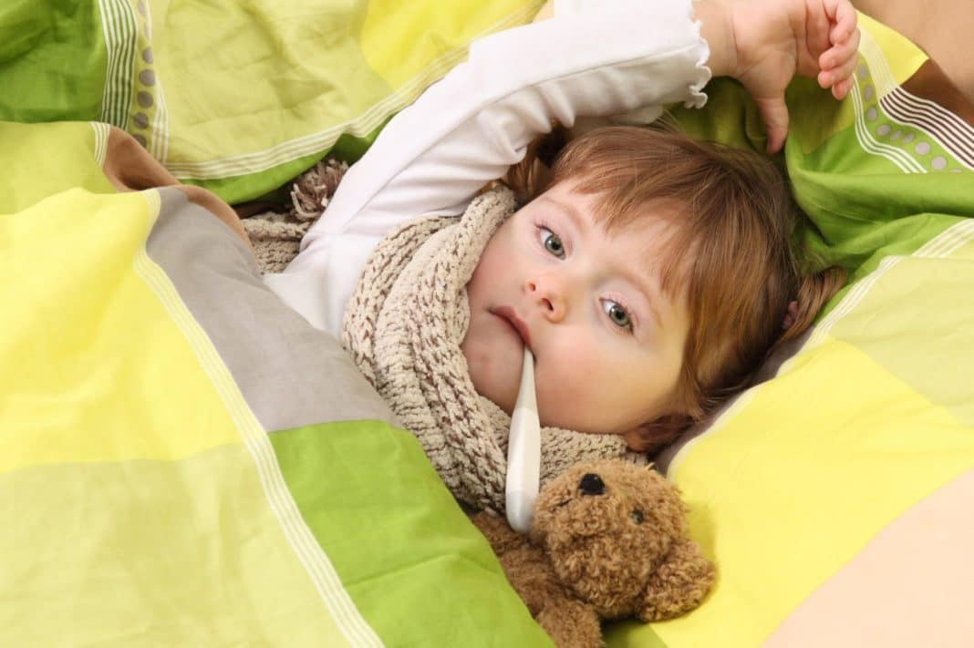 Острая пневмония у детей