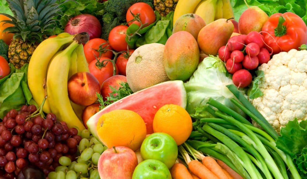 фрукты, овощи, зелень