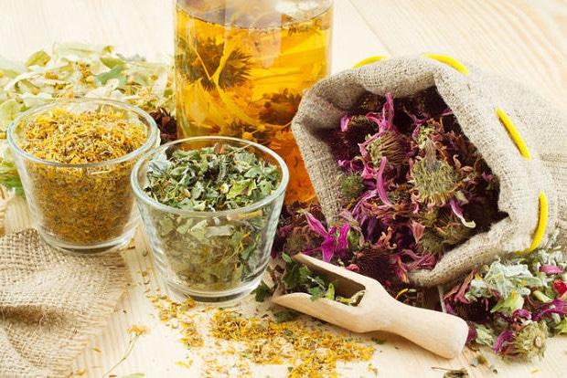 Отвар лекарственных трав