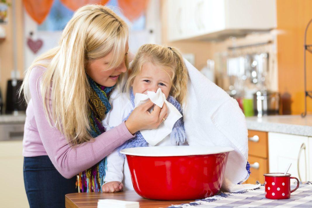 Лечение бронхита у ребёнка