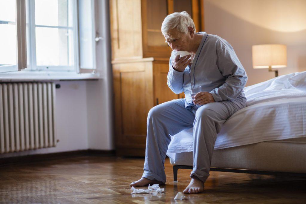 Мокроты при астме