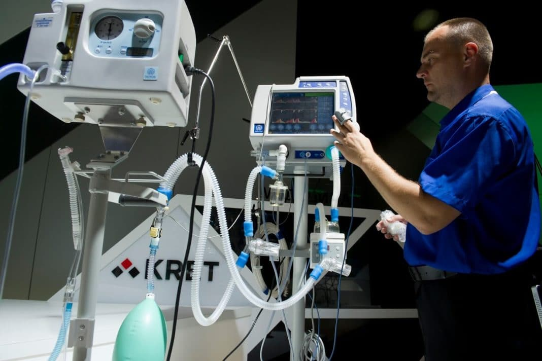 Аппарат искуственной вентиляции лёгких