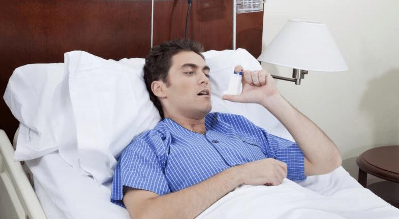 больной в постели