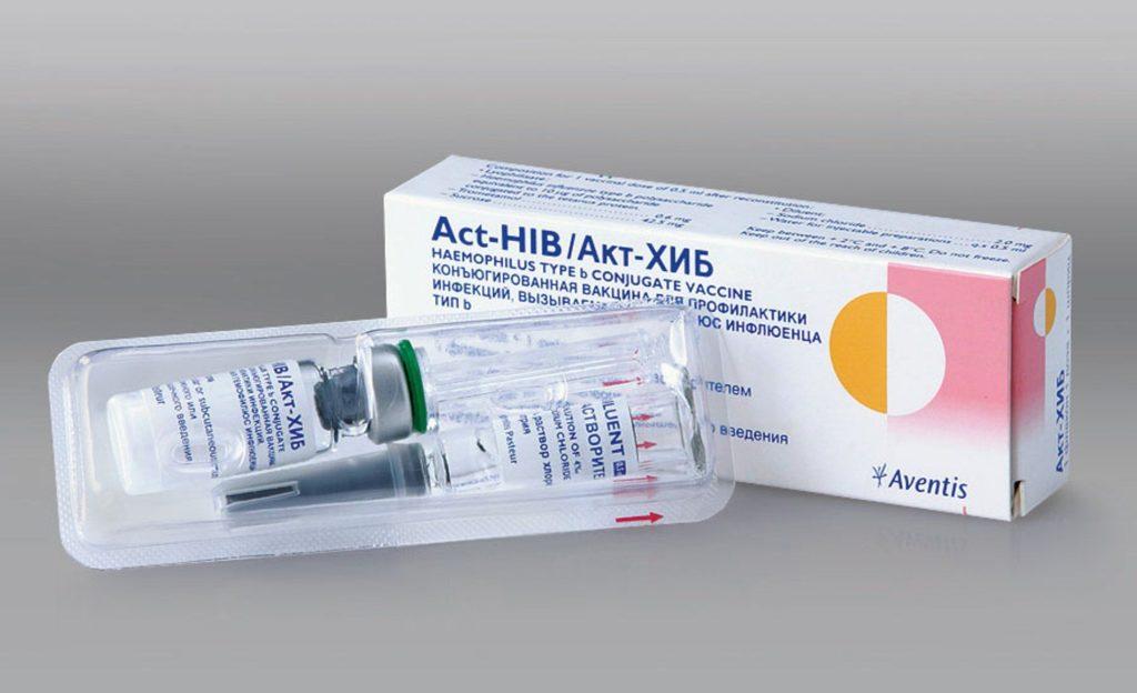 Порошок для инъекций «АКТ-Хиб»