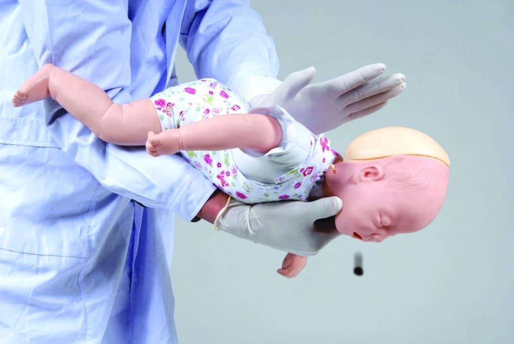 помощь при асфиксии ребенку