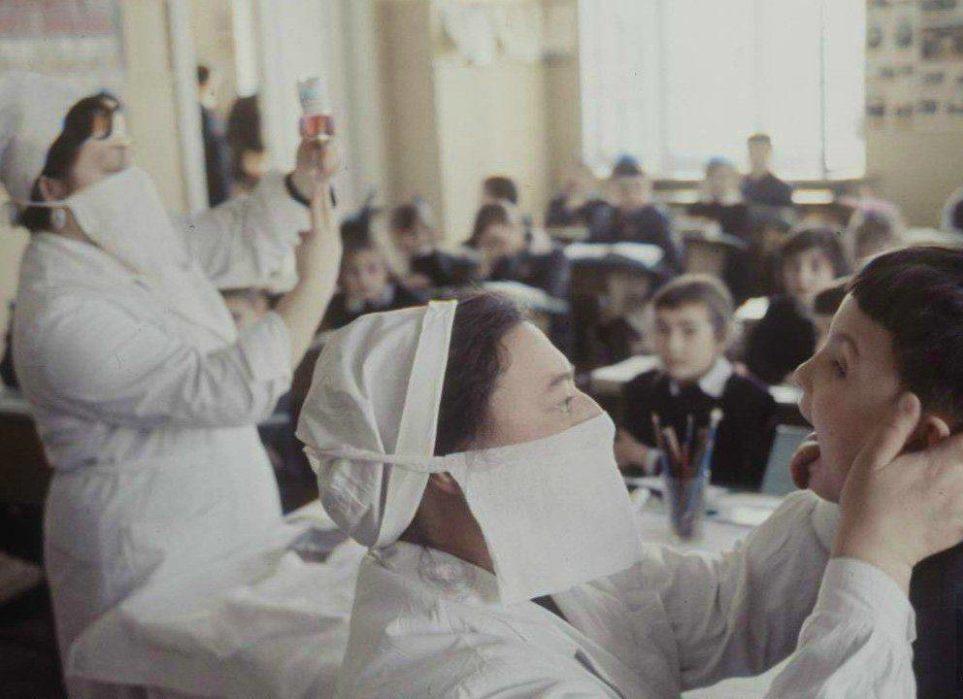Как боролись с гриппом и ОРВИ в Советском союзе?