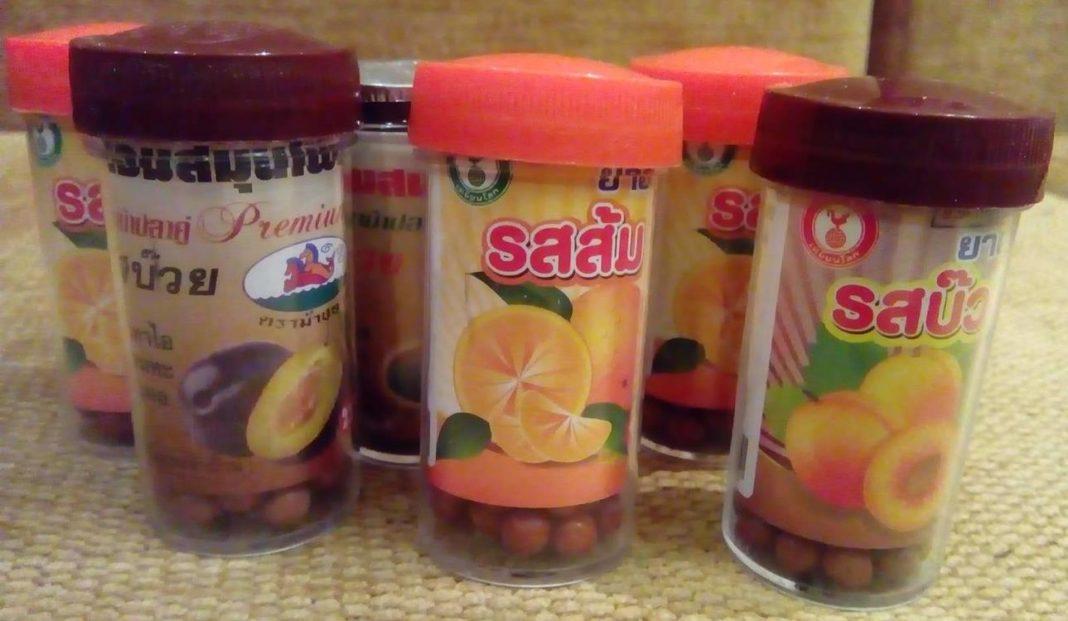 Тайские таблетки от кашля
