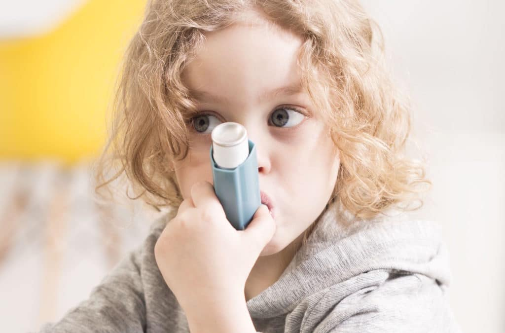 Предотвратить возникновение астмы у детей поможет пыль