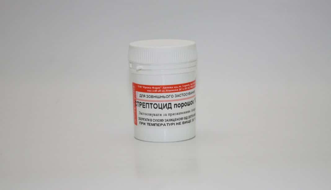 Стрептоцид при ангине