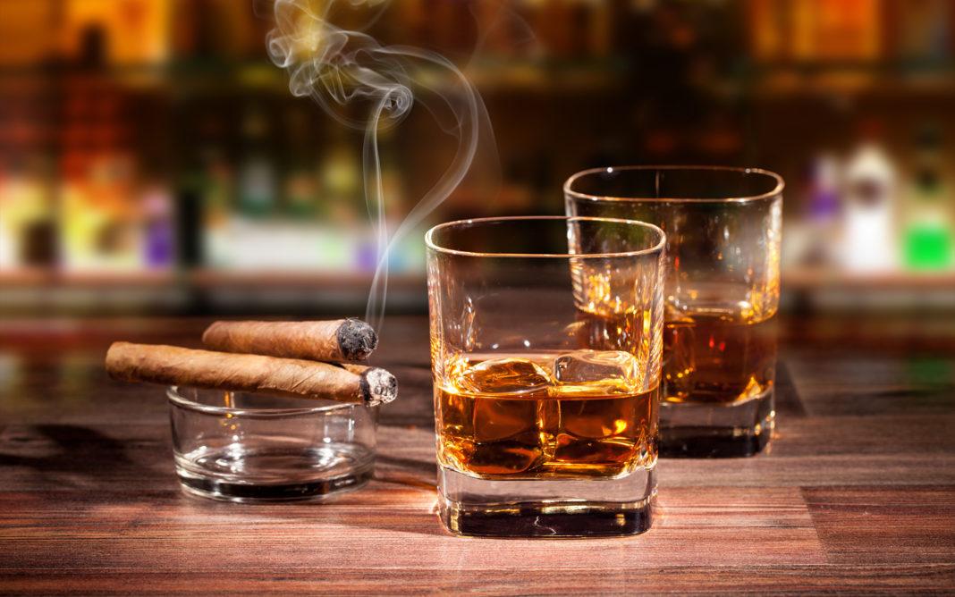 Концерагенный потенциал бутылки вина vs сигареты