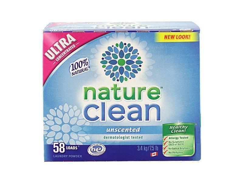 Стиральный порошок Nature Clean