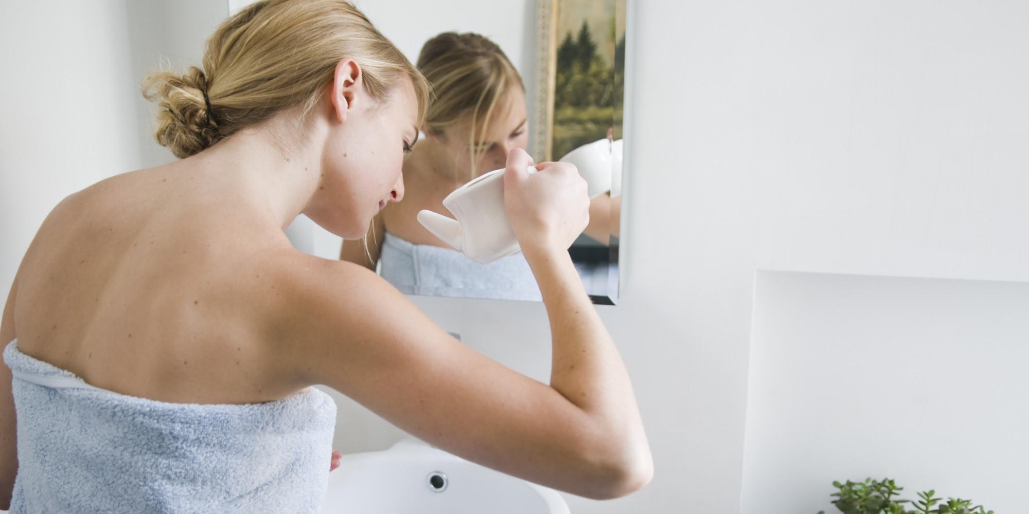 Как промывать нос раствором Фурацилина при гайморите
