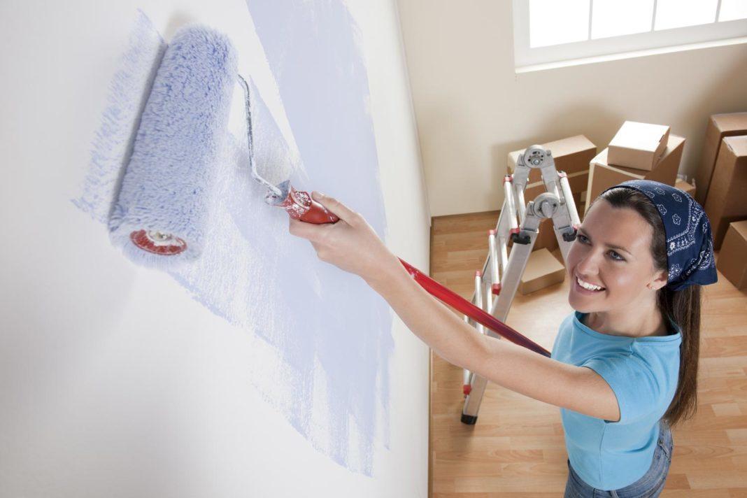 Запах краски во время ремонта: как от него избавиться?