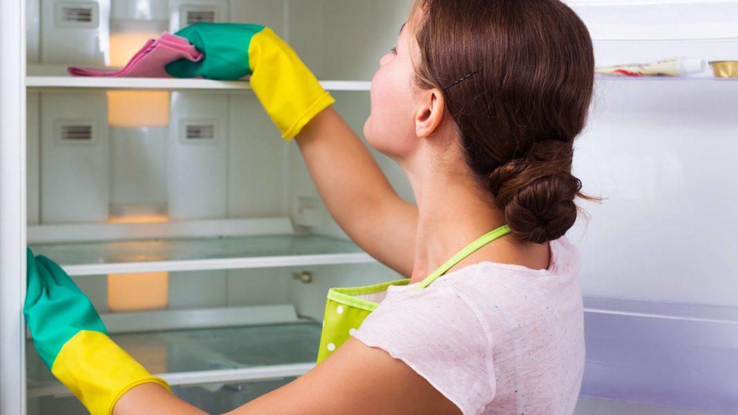 Как удалить запах плесени из холодильника?