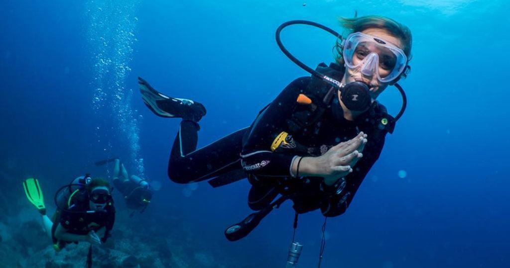 Дыхательные смеси для дайверов или чем дышат водолазы