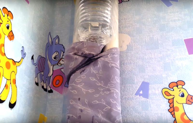 Делаю простой увлажнитель воздуха из обычной пластиковой бутылки