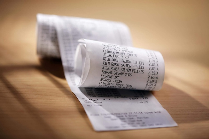 Ученые подтвердили, что кассовые чеки могут навредить здоровью