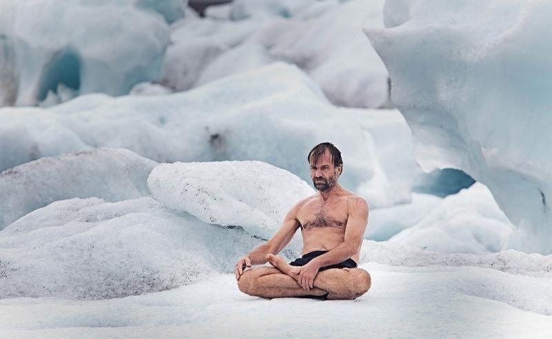 «Ледяной человек» из Исландии научил, как укрепить иммунитет с помощью дыхания