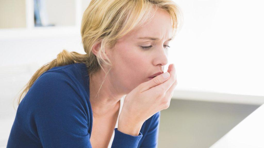 Образование мокроты при пневмонии