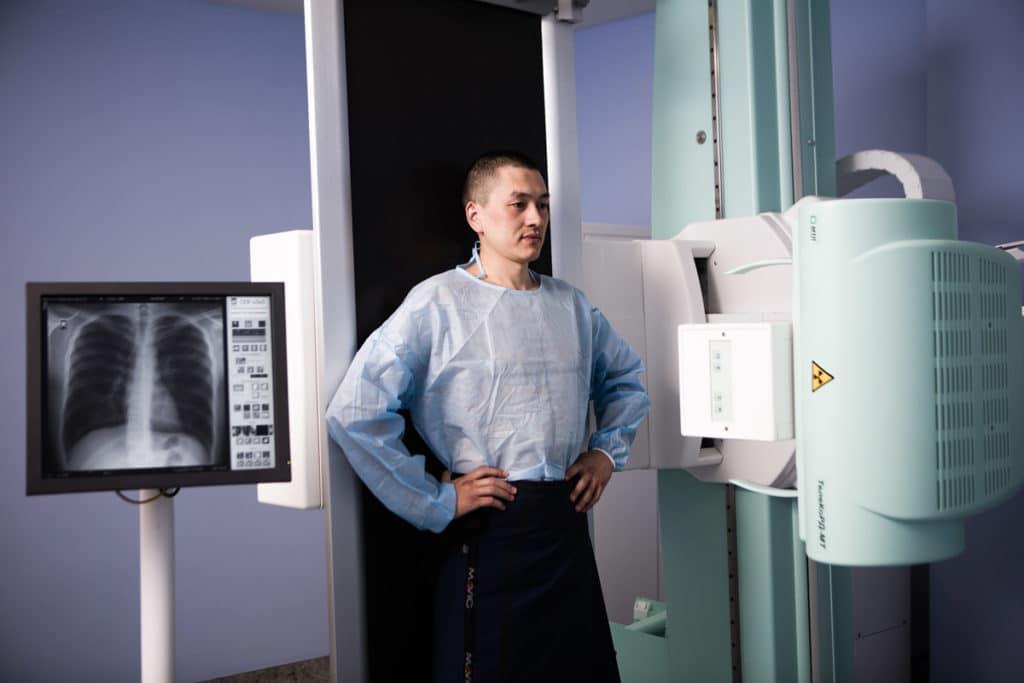 Рентген легких является одним из методов диагностики осумкованного плеврита