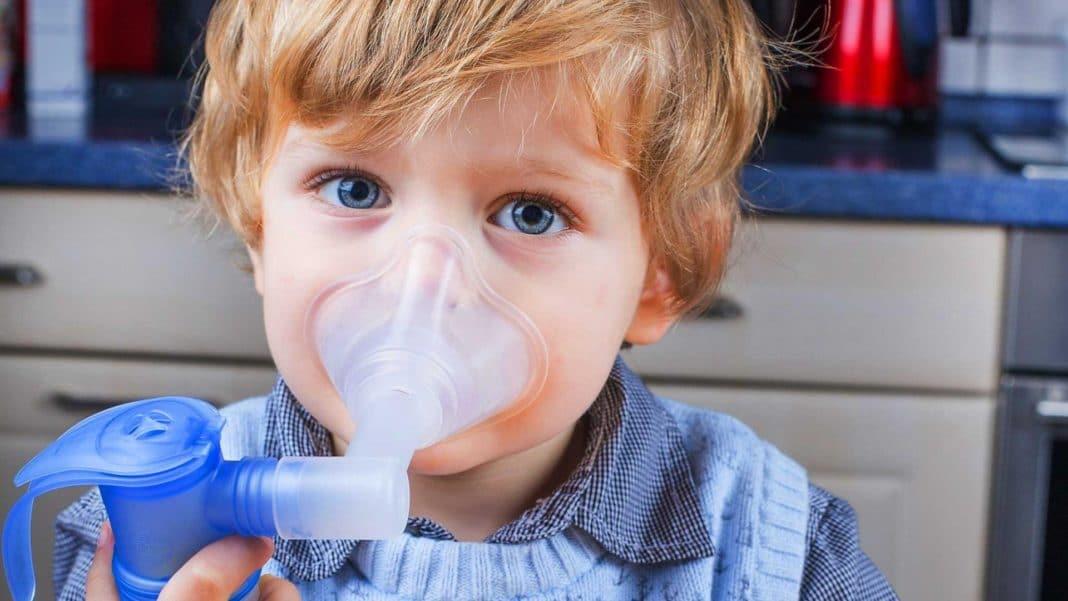 Ингаляции от кашля детям