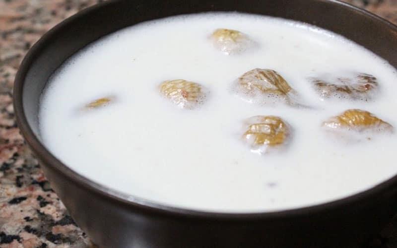 молоко с инжиром