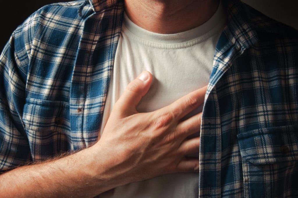 острая боль в груди